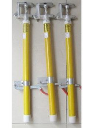 10KV outdoor high-voltage ground rods portable high pressure Pulling short-circuit operation lever 3 0.5 m insulated rod