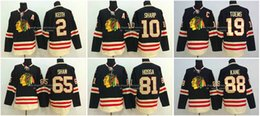 Wholesale Chicago Duncan Keith Patrick Sharp Toews Patrick Kane Shaw Hossa Winter Classic Black Blackhawks Nhl Ice Hockey Jersey