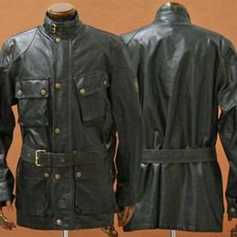 2017 chaquetas de los hombres de cera Caída libre del envío soy una leyenda Trialmaster chaqueta leyenda hombre encerado hombre chaqueta de algodón tamaño europeo chaqueta chaquetas de los hombres de cera baratos
