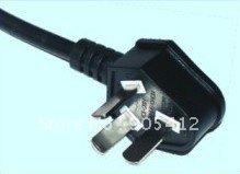 Wholesale international standard three pins household power wire plug PVC body can be used in household appliance