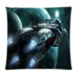 Wholesale Hot Sale High Quality Battlestar Galactica Soft Comfortable Square Zippered Throw Pillowcase Nice Pillow Case