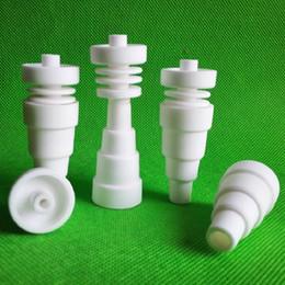 50Pcs 6 in 1 Infiniti Ceramic Nail Universal Domeless Nail 10mm 14mm 18mm Male Female free DHL