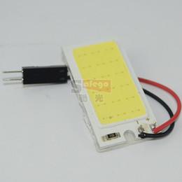 Wholesale 10pcs LED W COB Chip Car Interior Light t10 led cob Festoon Dome light V Car Vehicle LED Panel