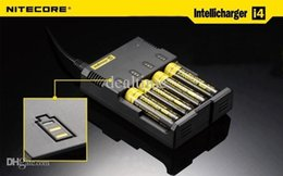 Wholesale Nitecore Battery Charger Nitecore I4 Charger for CR123 AAA Charger universal automatic smart charger Nitecore I4 Charger
