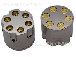 Wholesale new GT bullet metal grinders smoke detectors metal materials product size X5CM weight g