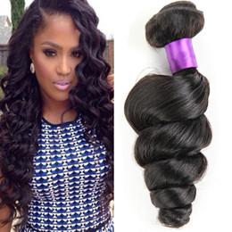 Brazilian Peruvian virgin hair loose wave 4 bundles Rosa hair products unprocessed virgin Brazilian Indian loose wave human hair weave