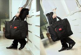 Wholesale 2015 Foldable Nylon Suitcase Hand Luggage Cabin Small Wheeled Travel Folding Flight Bag Large Capacity Case Travel Insert Handbag LB4