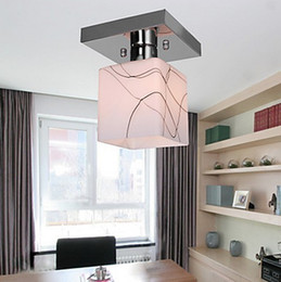 Wholesale Ceiling Lights Cube - 2015 new Ceiling lights Stainless Steel Ceiling Light in Cube Shape Ceiling lights