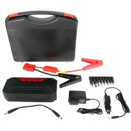 Wholesale US Stock mAh V Car Jump Starter Auto Gasoline Diesel Emergency Start Battery Booster Charger Laptop Tablet Phone Power Bank