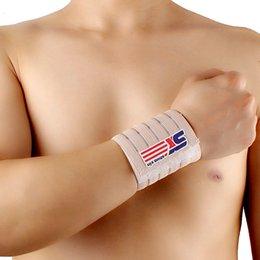 44 * 7.5cm Gym Protector Wristbands Weightlifting Wrist Support Sport Pulseira Wrist Brace Tennis Sweatbands Guard T005
