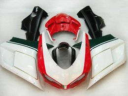 Injection Fairings for Ducati 1098 848 1198 2007-2011 1098  848 1198 07 08 09 10 11 ABS Plastic Motorcycle Parts Body Kits