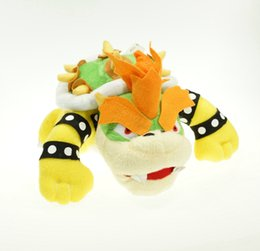 Wholesale Super Mario Bros plush toy King Bowser Koopa Soft Toy Plush Animal quot Doll Christmas gift
