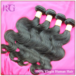 Cheap Human Hair Brazilian virgin hair body wave 4pcs lot grade 6A unprocessed hair Free shipping