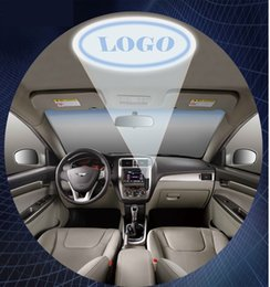 Wholesale 2015 hot usb led car roof customed design projector light to promotion and advertising led car roog lamp