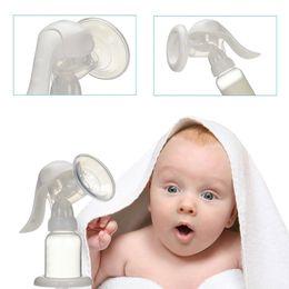 Wholesale Hand type breast pump Baby Milk bottle nipple with sucking function Baby Product feeding breast pump la871040
