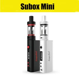 Kanger Subox Mini Starter Kit 50W OCC RBA Coil Subtank Mini KBOX Variable Wattage Box Mods E cigs vaporizer vape