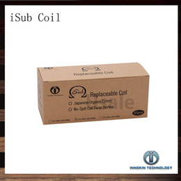 Innokin iTaste iSub Sub ohm Coil 0.2ohm 0.5ohm 2.0phm Replacement Coils For iSub Atomizer iSub Tanks 100% Original