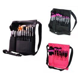 Wholesale Professional Makeup Brush Set with Brush Belt Holder for Makeup Artist