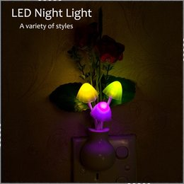 2016 cheap bedroom lighting mushroom flowers led night lights led light lamp in the dark eye cheap bedroom lighting