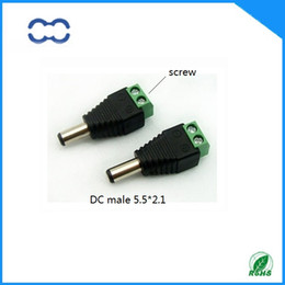 Good Quality 20pcs CCTV Camera male 2.1x5.5mm DC Power Connector