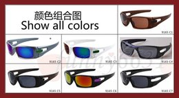 Wholesale HOT SALE SUMMER fashion sunglasses women cycling sports dazzling eyeglasses men reflective coating sun glass