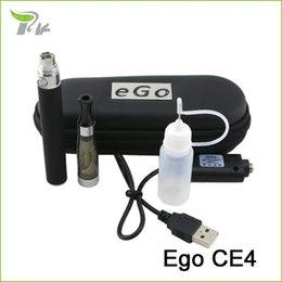 Barato electrónica 2016 nuevo cigarrillo electrónico EGO CE4 cig caja de la pluma e-cigarrillo kit de arranque de cuero con cremallera mod vaporizador vaporizador desde cajas de cigarrillos electrónicos baratos fabricantes