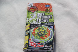 Wholesale 2016 New Arrive METAL FUSION BEYBLADE BB Rock Zurafa Giraffe R145WB Without Launcher