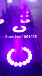 Wholesale led co2 jet machine flycase pack dmx512 control dj co2 jet machine led Disco Stage effect equipment led co2