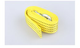 Wholesale 50pcs M Trailer rope High Strength Nylon Universal Tow Eye Strap Towing roprs for tons car