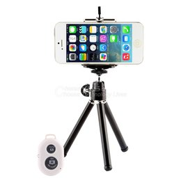 Tripod Holder Bluetooth Remote Control Shutter for Apple for iPhone 6 6 Plus 5S 5 YKS