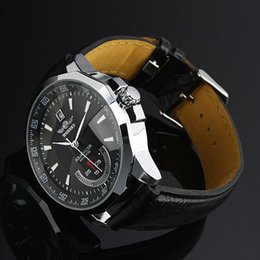 Wholesale New Brand Logo Winner Leather Automatic Mechanical Skeleton Chronograph Watch Men Leather Watch Best Gift Top Quality