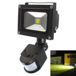Wholesale 20W PIR Infrared Body Motion Sensor Waterproof LED Flood Light AC V Outdoor led Landscape Lighting LEG_846