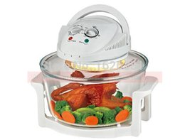 Wholesale DHL W Flavor Air Wave Turbo Oven kitchen cooking air fryer chicken Electric Oven Halogen Convection Oven