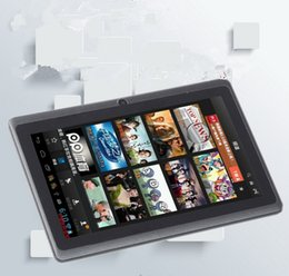 Wholesale Factory direct dual core A23 G Tablet PC inch high with the Android system WIFI Internet with camera