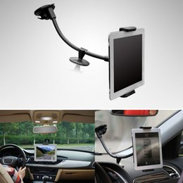 Wholesale New Arrival Universal in1 Car Windshield Mount Holder Stand for Mobile Phone Tablet PC GPS for iPad for Amazon Kindle order lt no