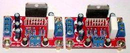 Wholesale TDA7294 power amplifier board W dual channel amplifier board one pair