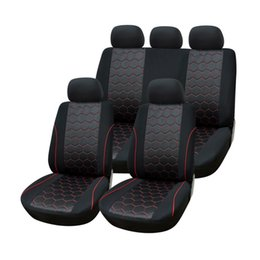 Wholesale AUTOYOUTH Soccer Ball Style Jacquard Full Car Seat Covers Set Universal Fit Most Car Covers Interior Accessories Seat Covers order lt no tra