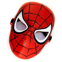 2015 High Quality Cosplay Masks Full Face For Children Masks Spiderman Film Mask Masquerade Masks Halloween Mask Party Mask