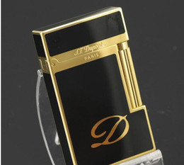 Wholesale Authentic quality audible words act as purchasing agency is peng dupont lighters Golden classic big D