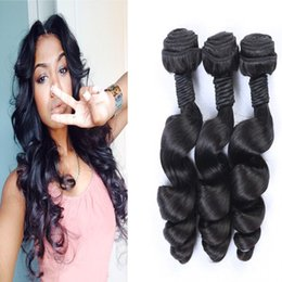 100% Unprocessed Brazilian Hair Bundles Brazilian Virgin Hair Extensions Human Hair Weave Natural Color Body Wave Straight Loose Wave Curly
