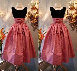 High Waist Satin Skirts Tea Length Ruffles Waistband Zipper Maxi Skirt Formal Dress Evenign Wear 2016 Spring Free Shipping Party Skirt
