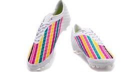 Naranja marca de botas de fútbol en Línea-2016 Neymar Zapatillas de fútbol Hombre TPU Zapatillas Botas deportivas baratos Zapatillas de béisbol Zapatillas deportivas Amarillo naranja Moda Marca ACC Venenos FG