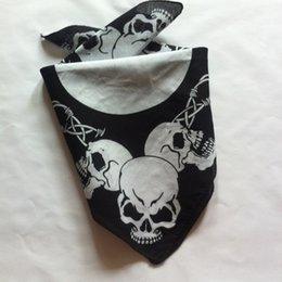 Promotion foulards en coton de marque de gros Gros-mode design hip hop coton bandana bandeau foulard carré 12pc / lot