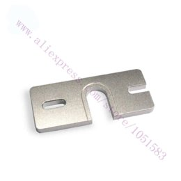 Wholesale 2Pcs Reprap HotEnd Aluminum groove mounting plate for Makergear d printer DIY Prusa Extruder J head gasket sheet