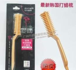 South Korea fast seamless brush comb wax hot Waxing Hair Brush brush brush Hair Coloring