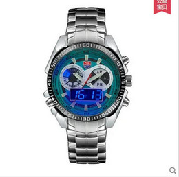 Sports Watches hot premium Brand TVG Upgrade Men's Watches Digital LED Military Watches Stainless Steel Watch Male Clock Relogio Masculino