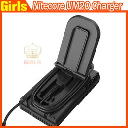 Wholesale Nitecore UM20 Intellicharger LCD Display E Cigarette Battery Charger for pk Nitecore I4 D2