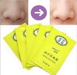 Wholesale DHL Free Grade Herbal Conk Mask Cleaning Remove Nose Blackheads Herbal Conk Nose Mask Pure Chinese herbal medicine Nose Masks