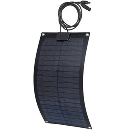 Wholesale 20W Marine yacht boat use Monocrystalline semi flexible solar panel light weight V Flexible