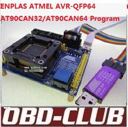 Wholesale Original ENPLAS ATMEL AVR QFP64 Ic tester QFP64 MCU Programmer ATMEGA128 ATMEGA Programmer OTQ AT90CAN64